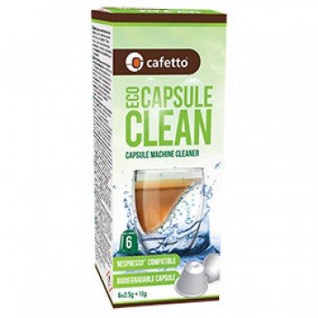 Cafetto Cleaning Capsule ECO 6x2.5g E13235
