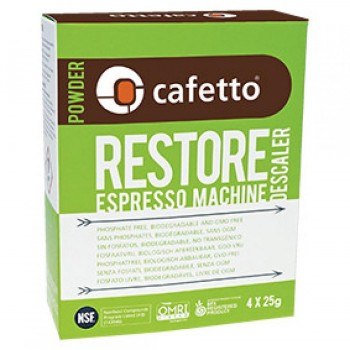 Cafetto Descaler Restore Powder 25gr E28303