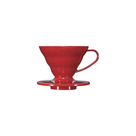 HARIO Coffee Dripper V60 size-01 ceramic red VDC01CBR