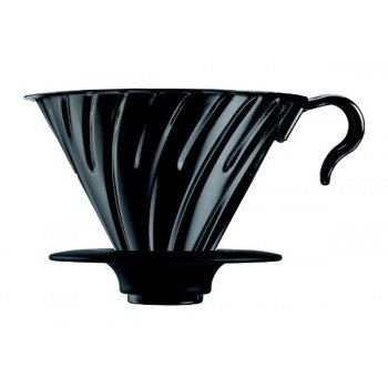 HARIO Coffee Dripper V60 size-02 metalic matte blk VDM02MB