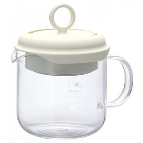 HARIO Tea Maker Pull-Up 350ml olive PTM35OW