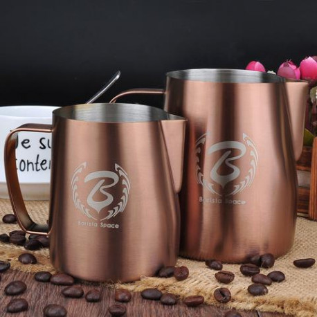 BARISTA SPACE Milk Jug Copper 350ml