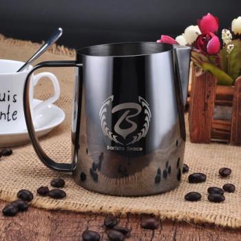 BARISTA SPACE Milk Jug black 450ml