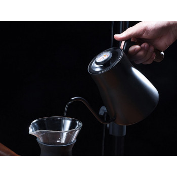 BARISTA SPACE Pour Over Kettle 850ml w/ thermo Black