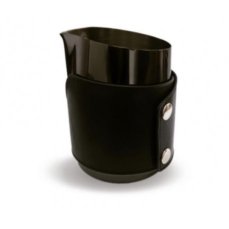 BARISTA SPACE Handless Milk Jug black 450ml