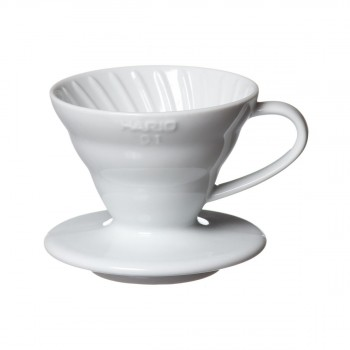 HARIO Coffee Dripper V60 01 ceramic white VDC01W