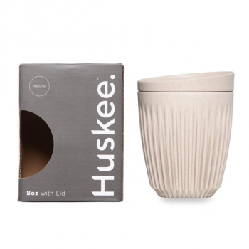 HuskeeCup & Lid Natural 8oz