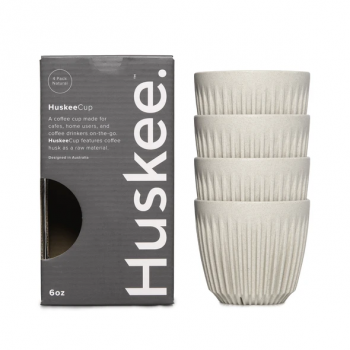 HuskeeCup Natural 4 x 6oz