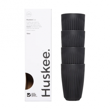 HuskeeCup Charcoal 4 x 12oz