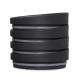 HuskeeCup Universal Lid Charcoal x 4