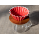 ORIGAMI Coffee Dripper size-M porcelain red 99300267