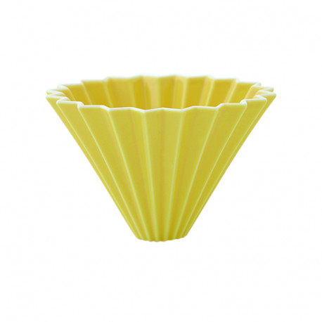 ORIGAMI Coffee Dripper size-M porcelain yellow 99300467