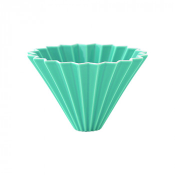 ORIGAMI Coffee Dripper size-M porcelain turq 99300567