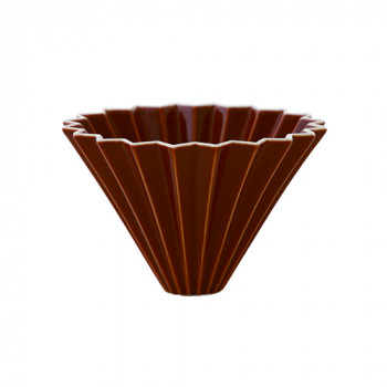 ORIGAMI Coffee Dripper size-M porcelain brown 99300767