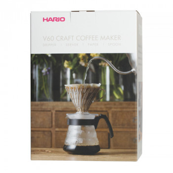 HARIO Coffee Maker V60 Craft Pour Over Kit 600ml VCND02BEX