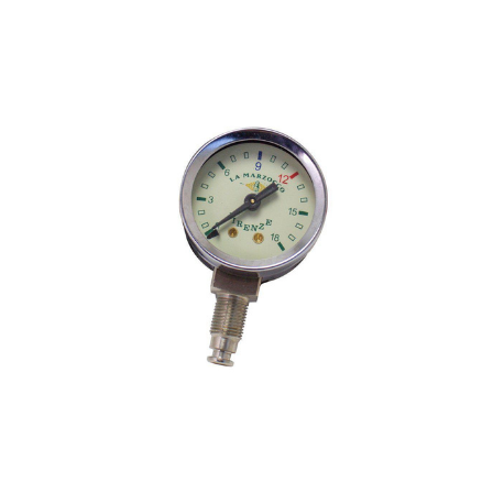 La Marzocco Pressure Gauge white 0-18 bar vertical E300901