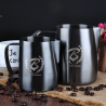 BARISTA SPACE Milk Jug sandy black 600ml F8