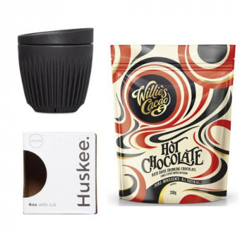 Promo Pack: Hot chocolate Willies and Huskee 6oz