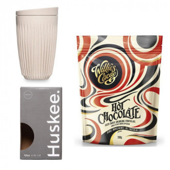 Promo Pack: Hot chocolate Willies and Huskee 12oz