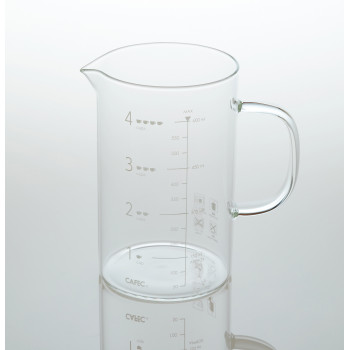 CAFEC Beaker Server 600ml glass BS600