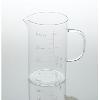 CAFEC Beaker Server 600ml glass BS600