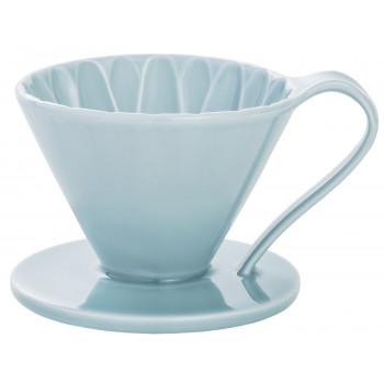 CAFEC Dripper Arita cone flower 1-cup blu CFD1BL