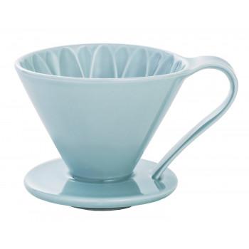 CAFEC Dripper Arita cone flower 4-cup blu CFD4BL