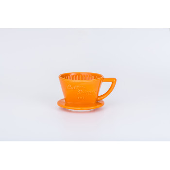 CAFEC Dripper Arita trapezoid 1-2 cup 101 orn G101OR
