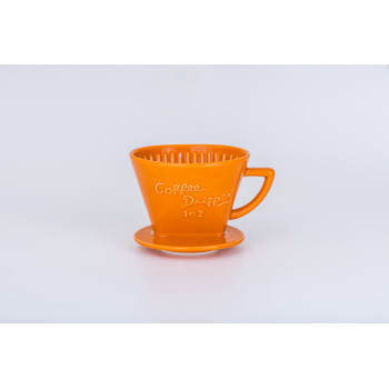 CAFEC Dripper Arita trapezoid 3-5 cup 102 orn G102OR