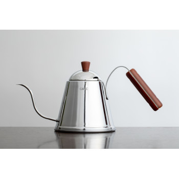 CAFEC Pour Over Kettle Tsubame 1000ml wood TBW1000