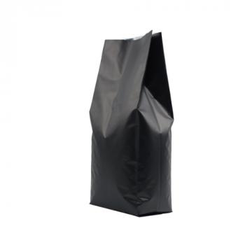 Coffee Bag Side Gusset valve 2,2kg matte black 100pcs