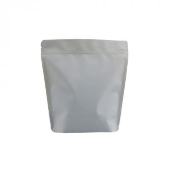 Coffee Bag BIO Stand up valve+zipper 250gr grey 100pcs