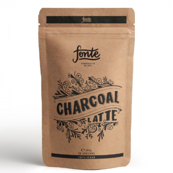 Superfood Fonte Charcoal Latte 300g