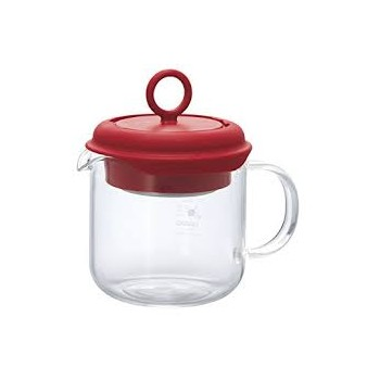 HARIO Tea Maker Pull-Up 350ml red PTM35R