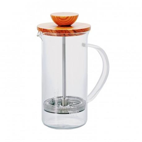 HARIO Tea Press Wood 300ml olive THW2OV