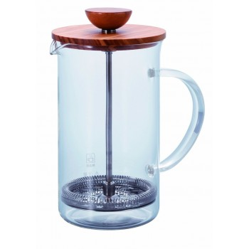 HARIO Tea Press Wood 600ml olive THW4OV