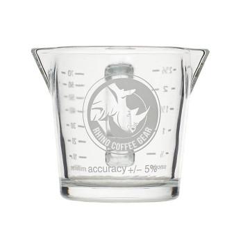 Pahar de dozare barista Rhino Coffee Gear, sticla, 70g