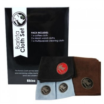 Rhino Coffee Gear Cloth Set Barista 4buc RWBCS4PK