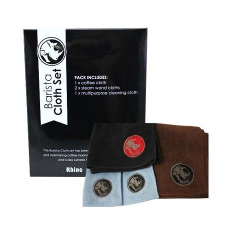 Rhino Coffee Gear Cloth Set Barista 4buc RWBCS4PK