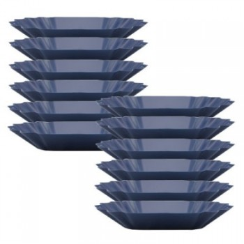 Rhinowares Cupping Tray Oval 12pcs blue