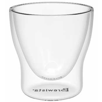 BREWISTA Coffee Glass 60ml double wall BDNSG60MLRB