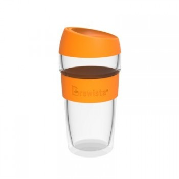 BREWISTA Smart Travel Mug 450ml glass black BDWKC450BK
