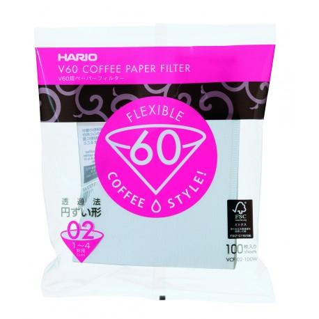 HARIO filtre hartie V60 size-01 100pcs VCF01100W