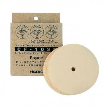 HARIO filtre hartie Syphon 100pcs CF103E