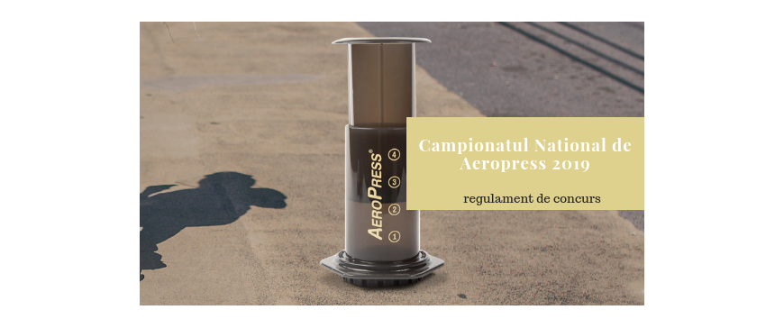Aeropress 2019 - Campionatul National - 28, septembrie - Mezanin, Bucuresti